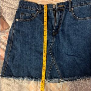 Old Navy Skirts - only worn once denim skirt !